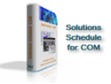 Picture of Solutions Schedule for COM