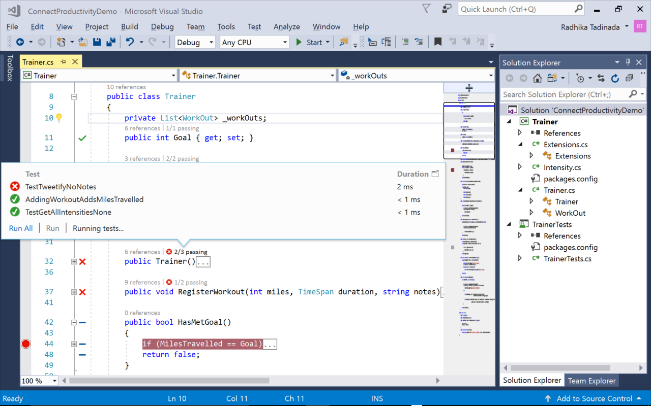 Visual Studio 2017 IDE